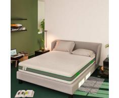 Baldiflex Emporio Materasso Molle Insacchettate e Memory Foam Green Spring Plus Singolo 800 Molle e