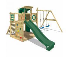 Parco giochi WICKEY Smart Camp Giochi per giardino con altalena, set da Gioco
