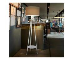 Lampada da terra LED design moderno stile minimale Allure   Colore: Beige - Slide