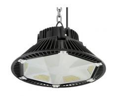 Led Industriale Ufo 200W 6000K 26000 Lumen, IP65 Illuminazione a Sospensione Industriale, Faro Led