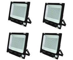 FARO LED SMD SLIM FARETTO SPOT ALTA LUMINOSITA' LAMPADA DA 50W A 600W WATT IP66 | 50 Watt