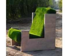 Poltrona ERBA/LEGNO cm . 110x95 H.90 - Design by Stefano Mazzucchetti