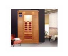 Sauna infrarossi due posti con cromoterapia, profumoterapia 120x115x190 cm Rivelenta MILA