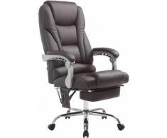 Sedia da ufficio massaggiante PACIFIC Marrone