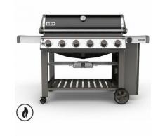Barbecue a gas Weber Genesis II E-610 GBS gpl acciaio inox 6 bruciatori 6 ganci