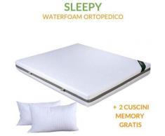 Evergreenweb Materassi&beds - EVERGREENWEB - Materasso una Piazza e Mezza 120x200 Alto 20 cm +