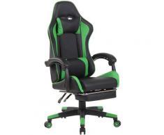 Sedia da ufficio Lismore Racing Design Nero/verde