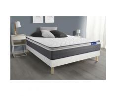 Actisom - Kit rete e materasso matrimoniale Actiflex plus 140x220cm - Spessore : 26 cm - Molle