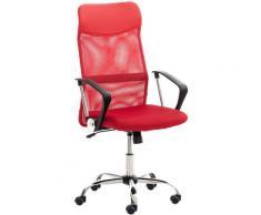 Sedia da Ufficio Washington Rosso