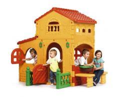 Casetta da gioco in plastica per bambini Grande Villa Feber