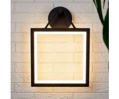 Applique da esterni LED Micro quadrata, IP65