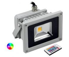 Housecurity - FARO RGB LED FARETTO RGB COLORATO ESTERNO FARETTI RGB COLORATI IP65 10 WATT