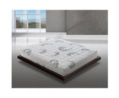 Materassiedoghe - Materasso 'Confort' in memory foam MyMemory 7 Zone Differenziate Multionda
