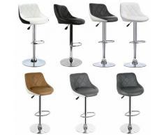BATHRINS®Sgabelli bar x 8,Sedia da bar ,Sedie da Cucina,per Soggiorno e Ristorante,Sedia da bar con