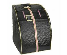 BATHRINS®Box sauna,box sauna portatile a infrarossi,con 4 piastre riscaldanti, negro,sauna a vapore