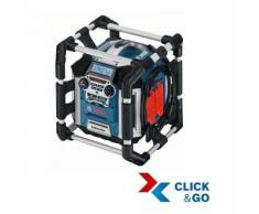 Bosch Professional 0601429600 GML 50 Caricabatteria con Radio