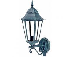 Etc-shop - Lampada da parete per esterni ALU lanterna illuminazione da giardino rustica lampada da