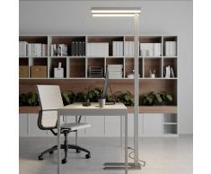 Piantana LED office dimmerabile Logan, 4000 K