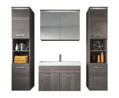 Mobili da bagno Paso XL 80cm, Bodega, armadio mobiletto lavabo Mobili Armadietto