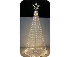 Salone Negozio On Line - Albero di natale style prof 1600 led+flash con stella altezza 6 mt 230v