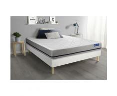 Actisom - Kit rete e materasso matrimoniale Actimemo soft 160x200cm - Spessore : 20 cm- memory foam