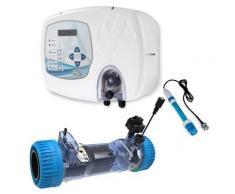 Elettrolisi a Sale Piscina + controllo PH Aqua Salt PLUS | Piscine fino a 200 mc