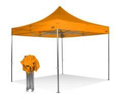 Tenda gazebo pieghevole 3x3 tutta in alluminio senza laterali imperemabile. Professionale
