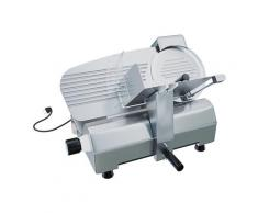 Bricozone - Affettatrice Elettrica Con Diametro 30 Cm, Taglio Fino a 17 Mm Potenza 270 W Silenziosa