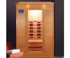 Sauna Infrarossi in Legno per 2 persone 120x115 | Red