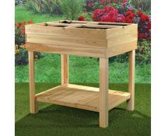 Tavolo per piante / tavolo da fiori / tavolo da giardiniere in legno - Mercatoxl