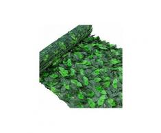 Deyiis Pianta artificiale da parete per giardino, giardino e matrimonio, con traliccio in plastica,