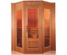 Sauna Finlandese in Legno FITNESS per 5 persone 200x208