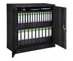 Armadio portadocumenti con 3 scomparti - cassettiera portadocumenti, armadio 2 ante, armadio