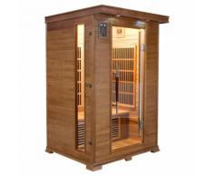 Sauna infrarossi Luxe a 2 posti cm 120x105x190 MPCSHOP SN-LUXE-2