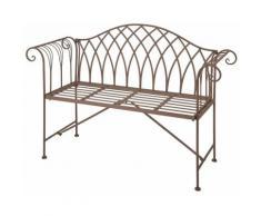 Panchina in Metallo Stile Old English MF009 - Esschert Design