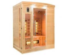 Sauna a raggi infrarossi DAPHNE da 3 posti