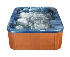 Beliani - Vasca idromassaggio da esterno riscaldata blu SANREMO