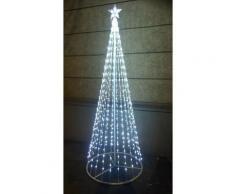 Salone Negozio On Line - Albero di natale style basic 576 led+flash con stella altezza 2 mt 12v