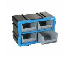 Cassettiera modulare con vassoi estraibili Fervi C086/04T