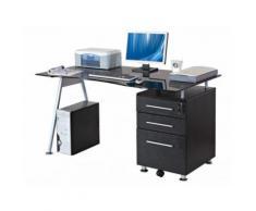 Scrivania porta PC con cassetti - ANDROMEDE