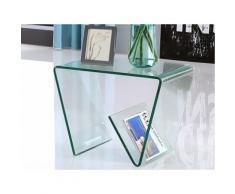 Tavolino in Vetro temperato Trasparente - ZENIA