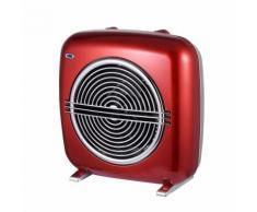 Ardes termoventilatore vintage rosso rock con termostato e due livelli di potenza