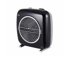 Ardes termoventilatore nero vintage fonzie con termostato e due livelli di potenza