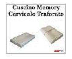 Cuscino Memory Confort Cervicale Traforato Sfoderabile