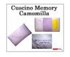 ErgoRelax Cuscino Memory Camomilla Aroma Therapy Traforato Sfoderabile