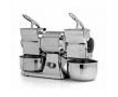 Gastrodomus Grattugia doppia monofase - produzione oraria 70 Kg - L 540 mm x P 220 mm x H 380 mm