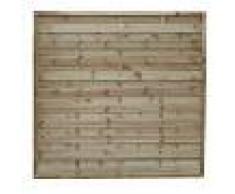 Milani Home frangivento da giardino in legno di pino impregnato in autoclave 90 x 180