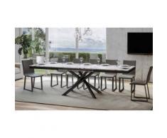 Tavolo: Cemento / Allungabile a 284 cm