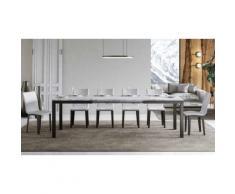 Tavolo Everyday Evolution: Bianco Frassino / 180 cm allungabile a 440 cm