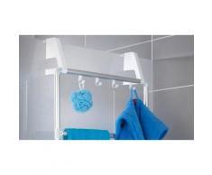:Porta rotolo da bagno con porta smartphone